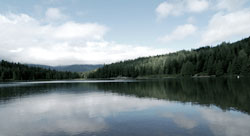 Lake on Whistler Valley Trail - Sandra The Traveller